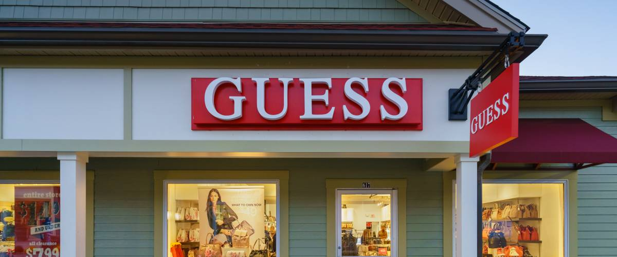 Guess outlet store in NY
