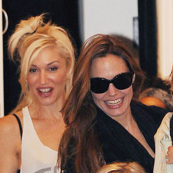 Gwen Stefani and Angelina Jolie