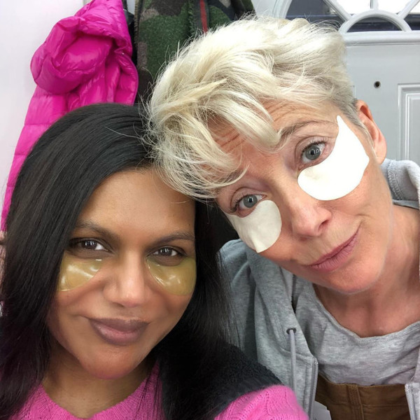 Mindy Kaling and Emma Thompson
