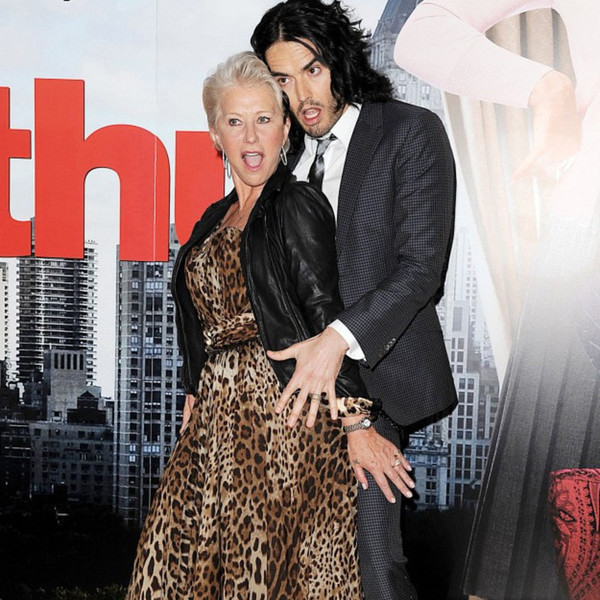 Helen Mirren and Russell Brand